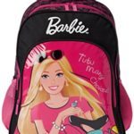 Barbie Pink and Black Children's Backpack (EI-MAT0042)