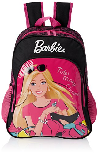 Barbie Pink and Black Children's Backpack for Rs 499 (50% off)