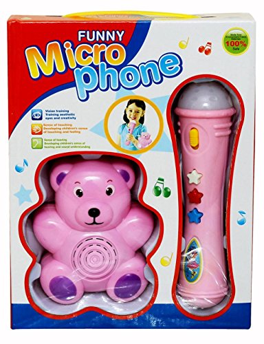 Funny Microphone (Pink) for Rs 399 (79% off)