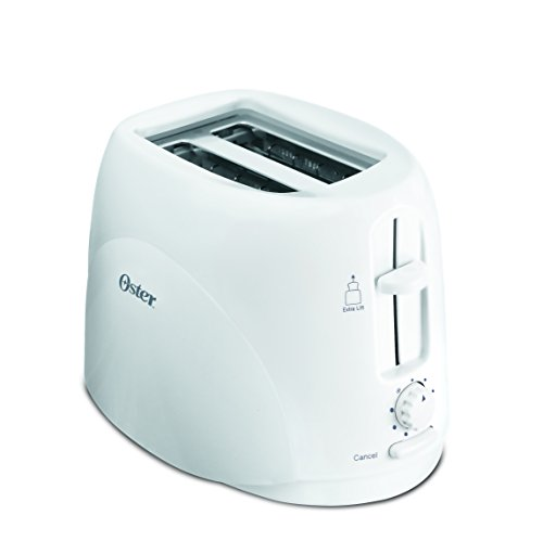 Oster 650-Watt 2-Slice Pop-up Toaster (White) for Rs 650 (75% off)