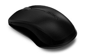 Rapoo 1620 Wireless Optical Mouse (Black) at Rs 444 (49% off)