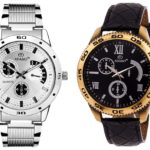 ADAMO Men's Designer Watch Combo 10937SL02