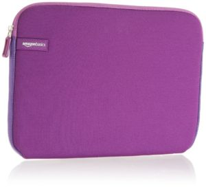 AmazonBasics 11.6 inch Laptop Sleeve Purple 300x272 - AmazonBasics 11.6-inch Laptop Sleeve (Purple) for Rs 625 (61% off)