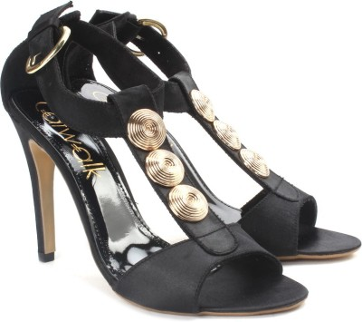 Catwalk Women Black Heels for Rs 1198 (60% off)