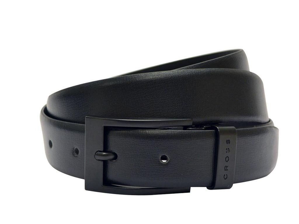 Cross Mens Genuine Leather Belt – Classic Century Range – Black for Rs 899 (44% off)