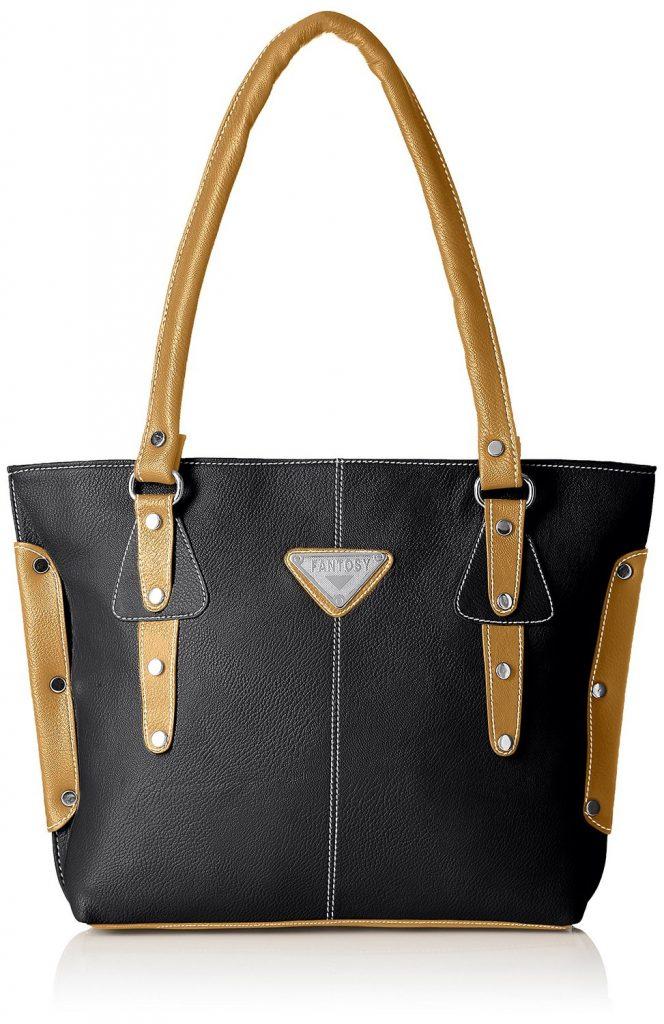 Fantosy Women's Handbag ( Black,Fnb-235) for Rs 484 (70% off)