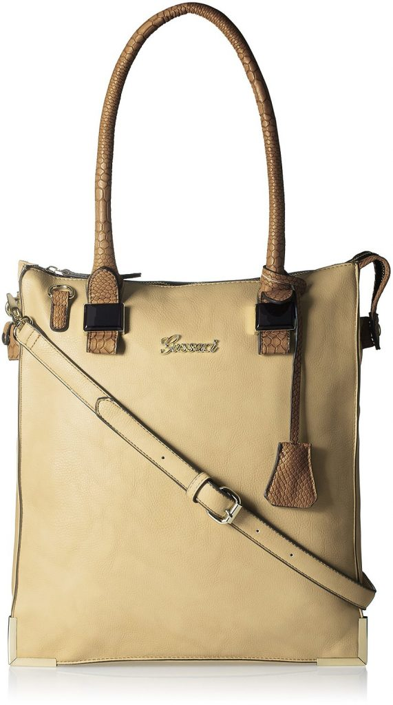 Gussaci Italy Women's Handbag (Greyish Brown) for Rs 945 (73% off)