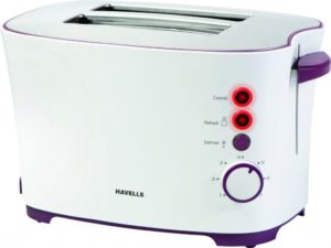 Havells Feasto 850 Watt Pop up Toaster White 300x225 - Havells Feasto 850-Watt Pop-up Toaster (White) for Rs 1379 (34% off)