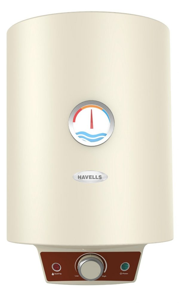 Havells Monza 10-Litre Storage Water Heater (Ivory) for Rs 5548 (27% off)