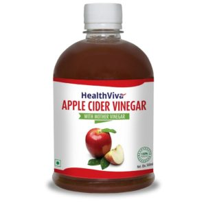 HealthViva Apple Cider Vinegar 500 ml 300x300 - HealthViva Apple Cider Vinegar - 500 ml for Rs 225 (50% off)