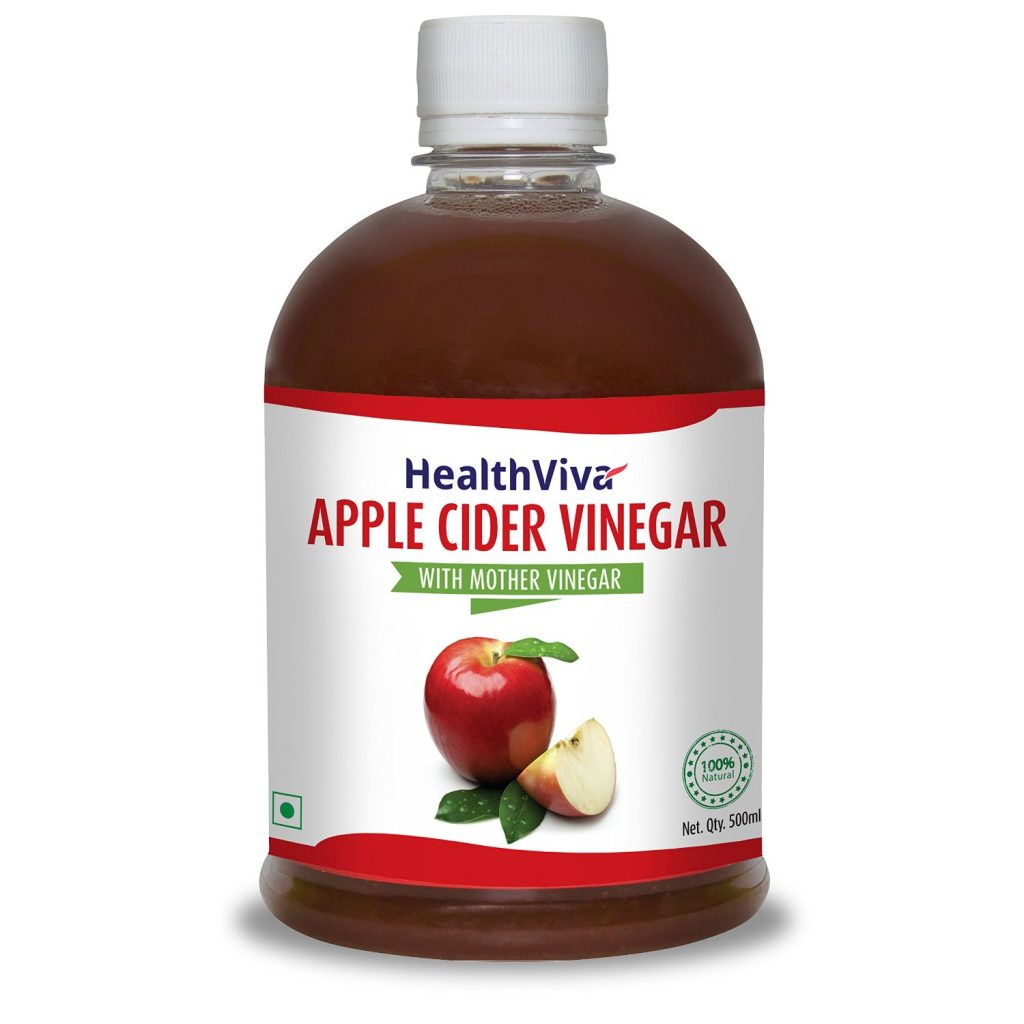 HealthViva Apple Cider Vinegar – 500 ml for Rs 225 (50% off)