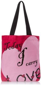 Kanvas Katha Women's Tote Bag (Pink)