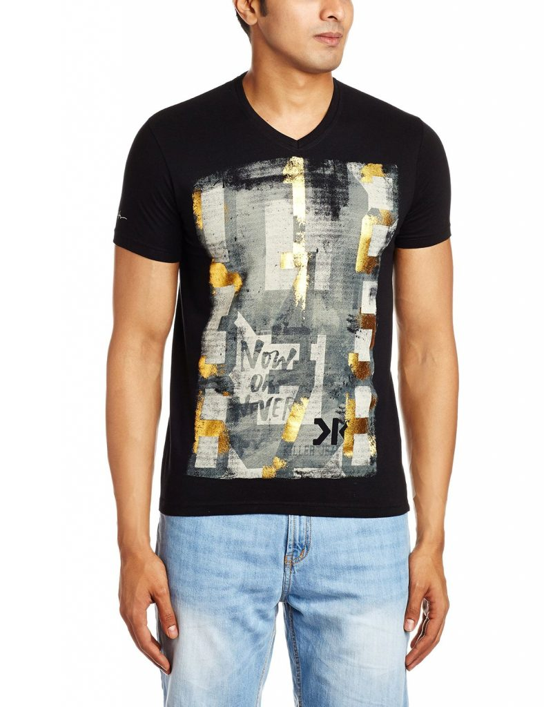 Killer Men's Cotton T-Shirt for Rs 399 (60% off)