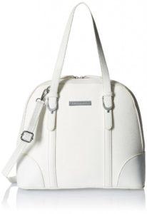 Lino Perros Women's Satchel Handbag (White)