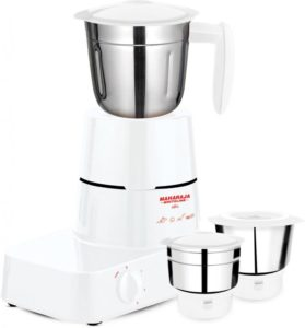 Maharaja Whiteline Alfa MX 153 500 Watt Mixer Grinder White 279x300 - Maharaja Whiteline Alfa for Rs 1499 (50% off)