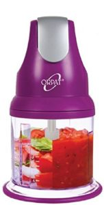 Orpat Express 250 Watt Chopper Purple 152x300 - Orpat Express 250-Watt Chopper (Purple) for Rs 899 (25% off)