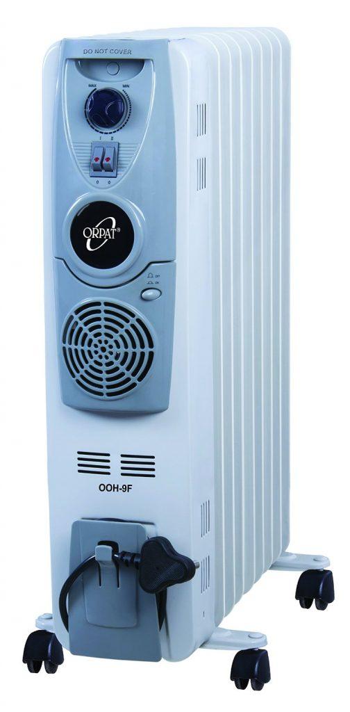 Orpat 2500-Watt Oil Heater for Rs 6015 (25% off)