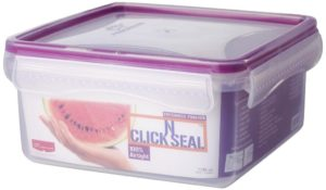 Princeware Click N Seal Square Container 1.395 Litres Violet 300x175 - Princeware Click N Seal Square Container for Rs 186 (24% off)