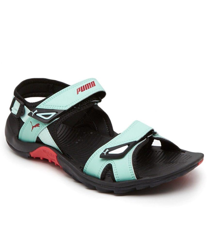 Puma Vesta Sdl Turquoise Black Floater Sandal for Rs 598 (74% off)