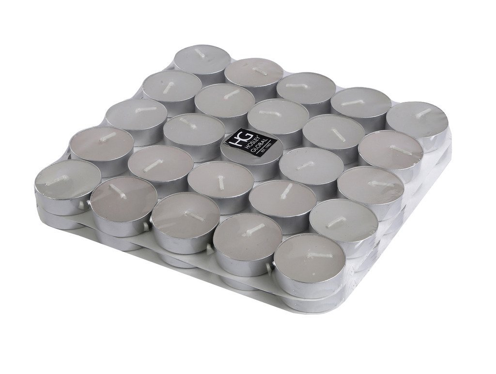 Set of 50 Hosley® Unscented Tealights for Rs 119 (66% off)