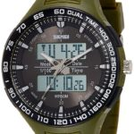Skmei Analog-Digital Green Dial Unisex Watch - 1066AA