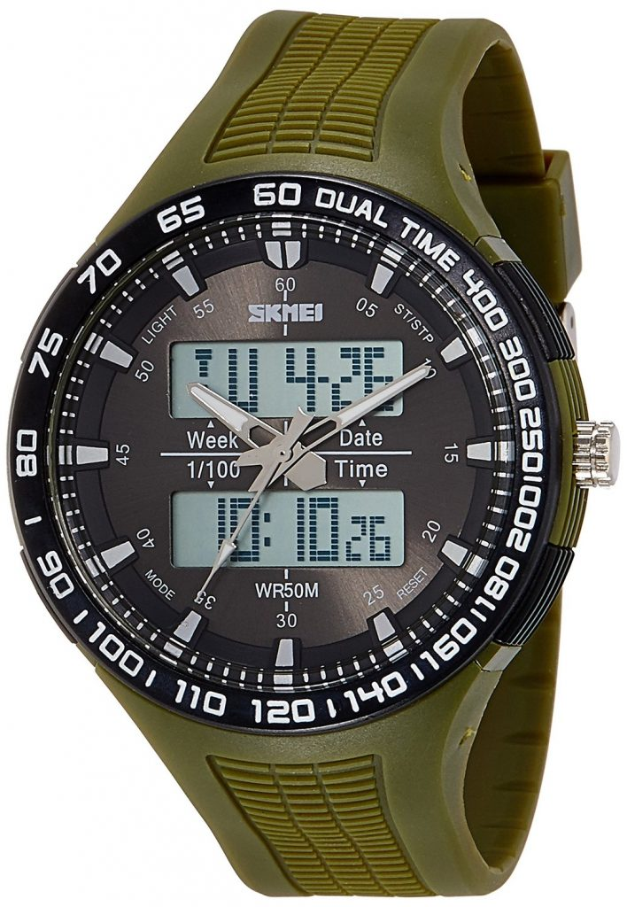 Skmei Analog-Digital Green Dial Unisex Watch for Rs 758 (60% off)