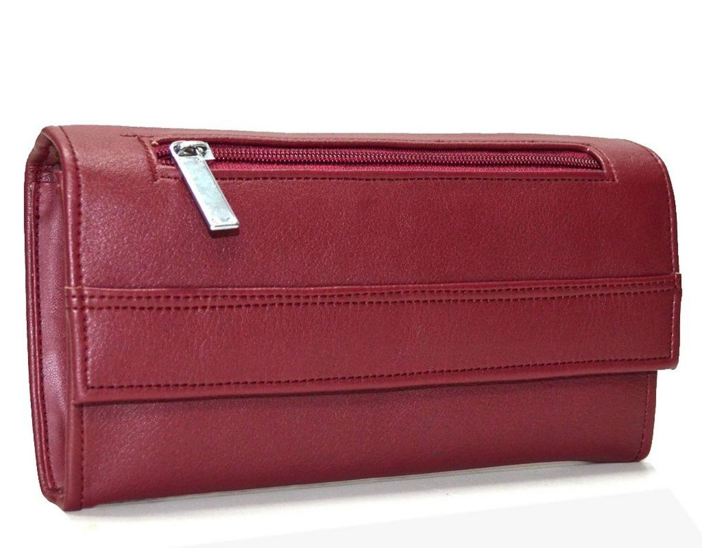 Utsukushii Women's Clutches(Maroon) for Rs 299 (67% off)