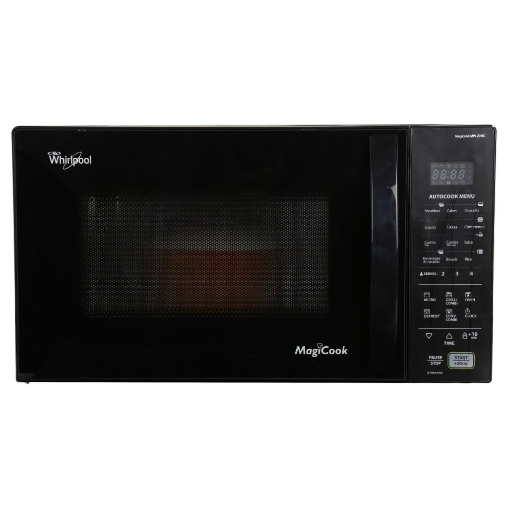 Whirlpool Magicook Electronic 20-Litre 800-Watt Convection Microwave Oven for Rs 6999 (30% off)