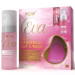 Wow Eva Reusable Menstrual Cup and Wash Pre Childbirth - Medium (Under 30 Years)