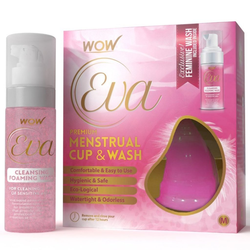 Wow Eva Reusable Menstrual Cup and Wash Pre Childbirth for Rs 499 (50% off)