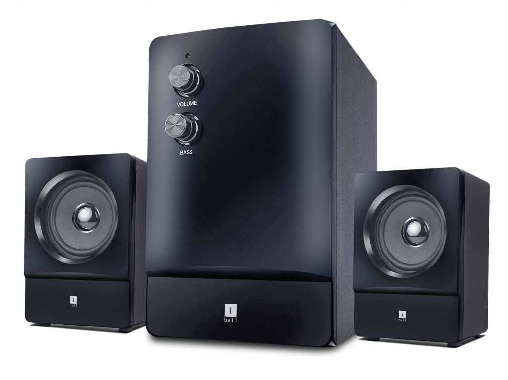 iBall Concord 2.1 Channel Multimedia Speakers for Rs 838 (7% off)