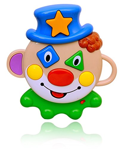 Planet of Toys Funny Clown Teaches Shapes and Colours (multicolor) for Rs 499 (71% off)
