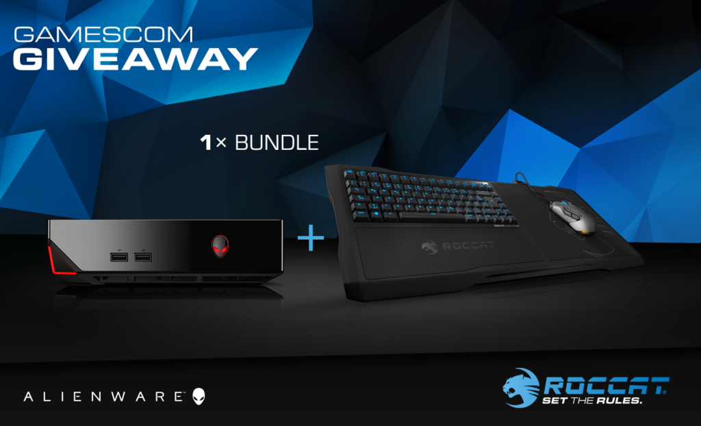 Alienware Alpha Gaming PC and ROCCAT Sova Gaming Lapboard Giveaway