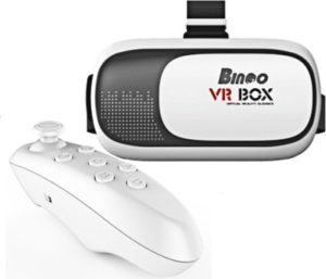 Bingo V200 Virtual Reality 3D VR Box with Bluetooth Remote Controller