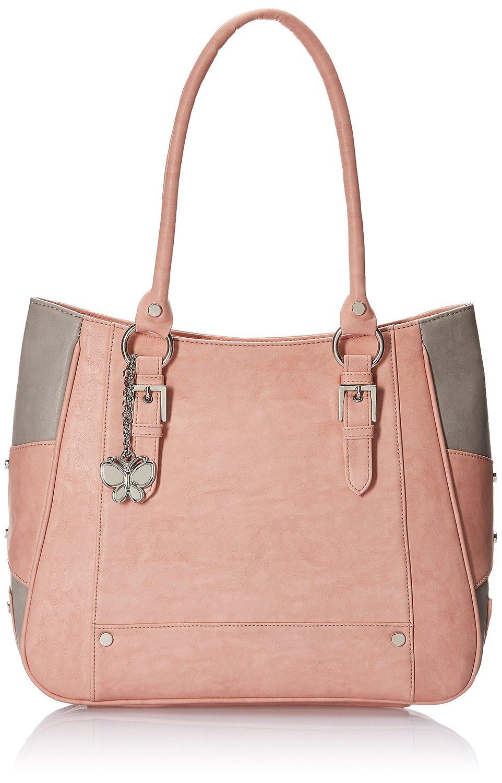 Butterflies Women's Handbag (Peach) for Rs 1363 (70% off)