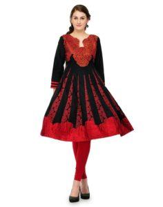 Cenizas Women Chiffon Dress Material Dress Material