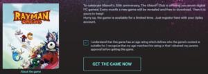 Download Rayman® Origins (PC Digital Download) for FREE by Club.UBI.com