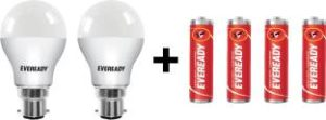 Eveready B22D LED 10 W BulbWhite Pack of 2 for Rs 299 45 Off at Flipkart 300x111 - Eveready B22D LED 10 W Bulb(White, Pack of 2) for Rs 299 (45% Off) at Flipkart