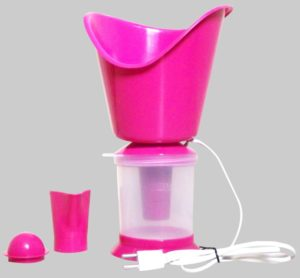 Healthgenie 3 In 1 Steam Sauna Vaporizer Regular (Pink)