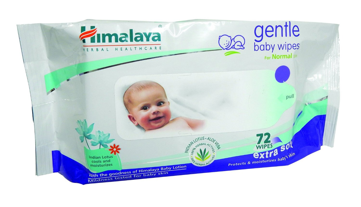Himalaya Herbals Gentle Baby Wipes (72 Sheets) for Rs 99 (43% off)