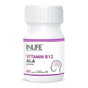 Inlife Vitamin B12 ALA Supplement - 60 Tablets