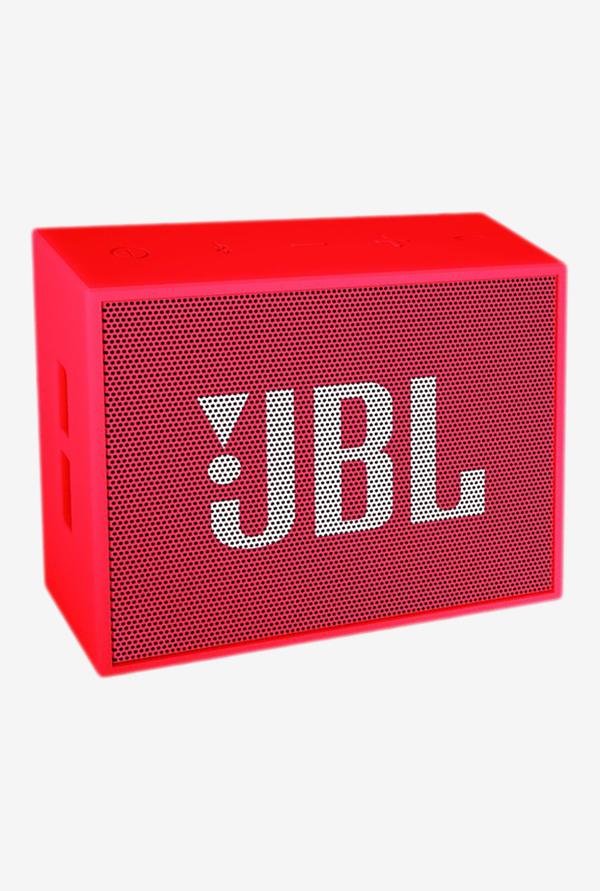 JBL GO Bluetooth Speaker (Red) for Rs 899 (75% OFF) at TataCLiQ