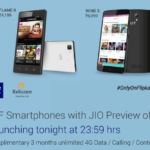 LYF Phones with JIO Preview Offer (Unlimited Internet, Voice and Text) Launching Tonight Exclusively on Flipkart