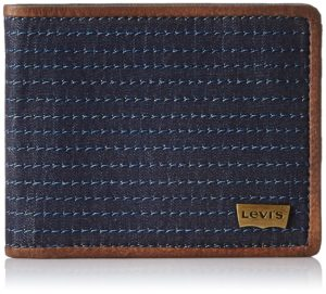 Levis FW 14 Blue Men's Wallet for Rs 449 (50% OFF) at Amazon