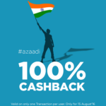 Niki App 100% Cashback Up To Rs. 500 on Independence Day