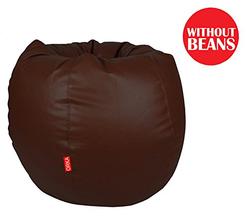 Orka XXL Bean Bag Cover – Brown (WIth out Beans) for Rs 449 (79% off)