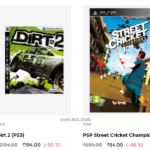 PC Xbox PS games up to 92% off at Tata CLiQ