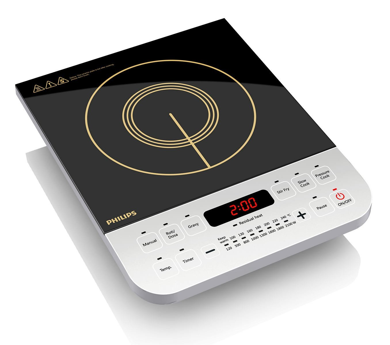 Philips Viva Collection 2100-Watt Induction Cooktop  for Rs 2299 (51% off)