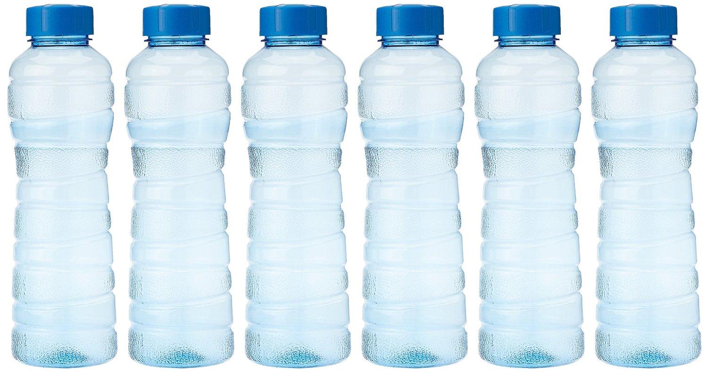 Princeware Victoria PET Fridge Bottle, 975 ml, Blue, Set of 6 for Rs 116 (48% off)