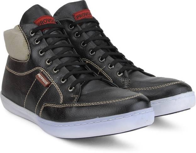 Provogue BEIGE-BLACK Sneaker(Beige, Black) for Rs 1259 (47% off)
